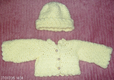 2014-12-27 - Hat & Shrug for Gill's Muriel Doll