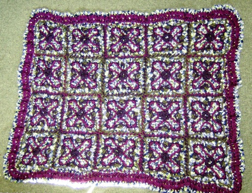 2015-04-16 -  Mystery  Afghan - The Crochet Crowd - CAL 2015
