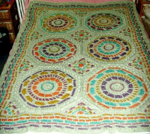 2015-10-31 - Summer Mosaic Afghan