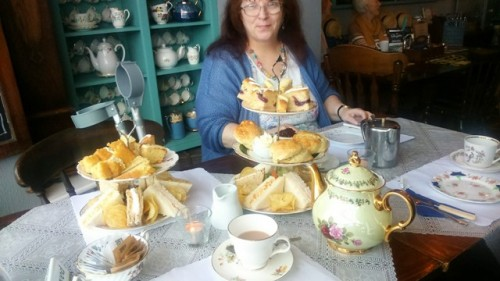High Tea @ McCowans, Aberaeron - 25-09-17